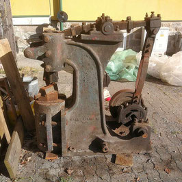 # 3218 - RARE vintage good working AUSTRIAN power hammer : MAKER : ERNST DANIA WIEN - complete working condition