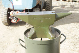 # 3159 - MILITARY ARMY PEDDINGHAUS ANVIL 50KG / 110 LBS - perfect condition with original stand