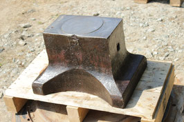 # 2927 - saw makers anvil , about 300 lbs
