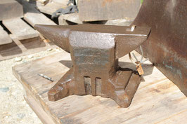 # 3221 - hand forged austrian table anvil , dated 1921 , marked 23 kg = 51 lbs