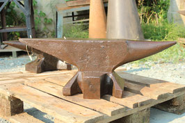 # 3013 - south german anvil , weighed 173 lbs , good original condition