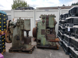 # 3284 + 3265 - two very good vintage CCCP russian Stanko air hammers . Ask me for you details and videos