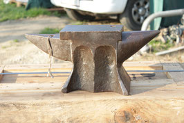 # 2987 - very special antique french anvil with just 68 lbs weighed - original condition - very nice in shape