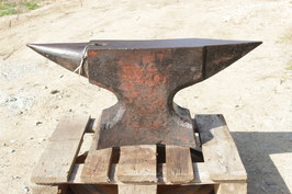 # 3149 - nice big forged FIRMINY anvil with 258 kg marked = 568 lbs