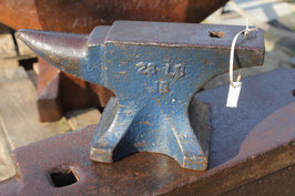# 2865 - small VERY RARE John Brooks anvil with just 28 lbs