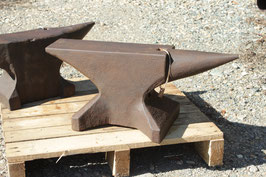 # 3312 - old german single horn anvil , forged in very nice shape , weighed a 82kg = 180 lbs