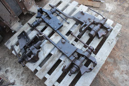 # 3078/3082/3079/3097 - 4 forged german vises , weights are 77 lbs , 53 lbs ,  37 lbs ,  46 lbs