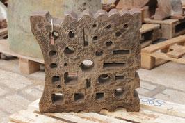 # 3155 - good old german swage block , nice versatile pattern