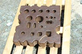 # 3563 - vintage german swage block with 211 lbs weighed . measurements see fotos
