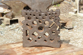 # 2937 - good vintage german swage block , about 110 lbs , measurements see fotos in inches