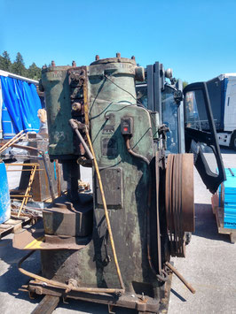 # BIG GOOD WORKING VINTAGE RUSSIAN STANKO AIR HAMMER 80kg / 176 lbs MASS OF the drop part - VIDEO ON DEMAND