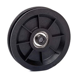 Cable Pulley Ø 90 mm for ropes up to Ø 7 mm - single ball bearing