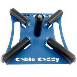 Cable Caddy X - Cable dispenser for vertically mounted cable reels