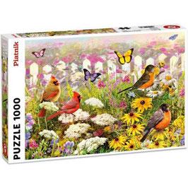Puzzle Joyeux Jardin 1000 Pièces