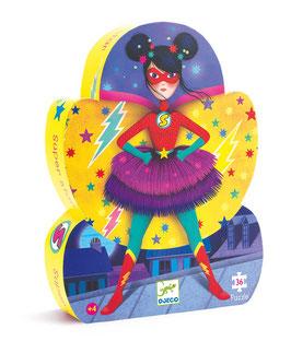 Djeco - Puzzle Super Star 36 pièces