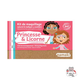 Kit maquillage Namaki princesse & licorne