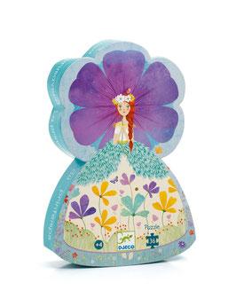 Djeco - Puzzle La Princesse du Printemps 36 Pièces