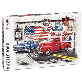 Puzzle La Route 66 - 1000 Pièces