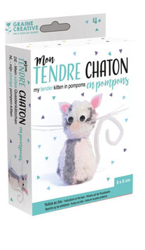 Kit Pompons Chat
