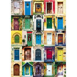 Puzzle Les Portes 1000 pièces