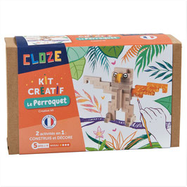 Cloze - Kit Créatif Le Perroquet