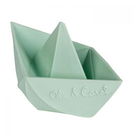 OliAndCarol - Bateau Origami Menthe