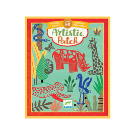 Artistic Patch Velours Jungle