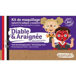 Kit maquillage Namaki Diable & Araignée