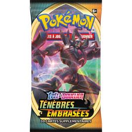 Booster Carte Pokemon Ténèbres Embrasées