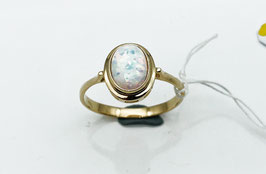 Ring mit synth.Opal  E2943