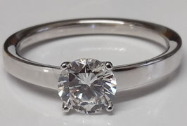 Solitaire-Ring Zirkonia 114143