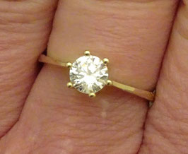 Solitaire Ring Zirkonia (3489b)