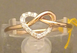 Ring mit Brillant 585/-