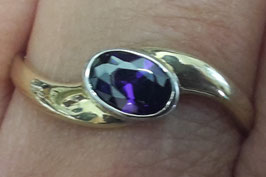 Ring synth. Amethyst (103645)