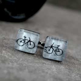 Gemelos Ciclismo, color gris