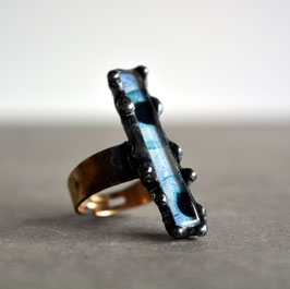 Anillo Ethnic, color azul