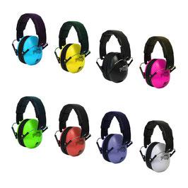 KiddyPlugs – Gehörschutz für Kinder in vielen tollen Farben! Oder für Menschen mit kleinerem Kopfumfang.