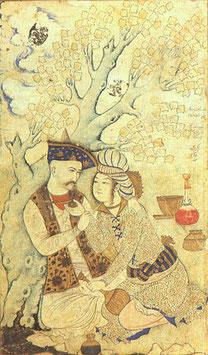 Persische Miniaturen mit Misagh Joolaee und Schaghajegh Nosrati  im Historischen Kaufhaus Freiburg