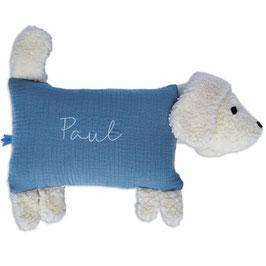 Kuschelhund blau