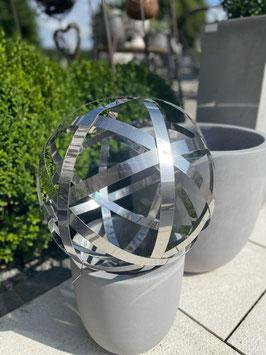 Windspiel Edelstahl Meridian Globe
