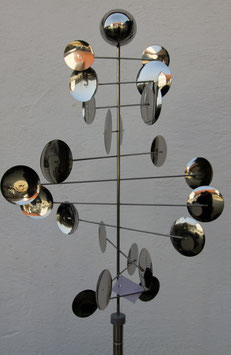 Windspiel Edelstahl Saxophon