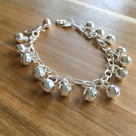 Armband mit Glöggli Silber