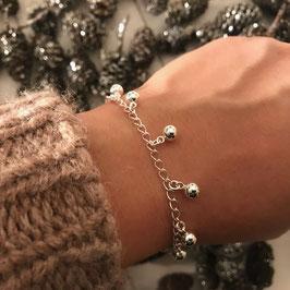 17.Dezember: ARMKETTE Silber mit Kugelanhängerli