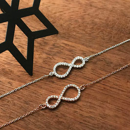 Armkette Infinity mit Zirkonia