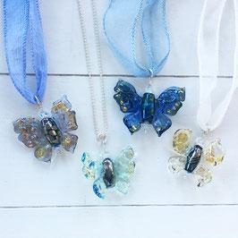 Glasperlen-Schmetterlinge