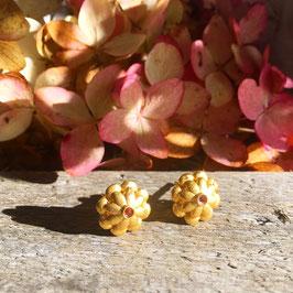 Ohrstecker Gold mit Granat