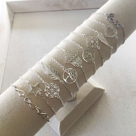Silberamkette