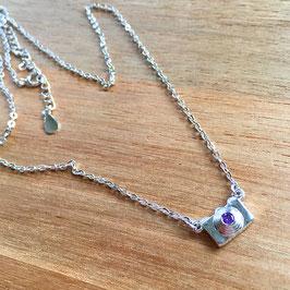 Fotoapparat Halskette Silber