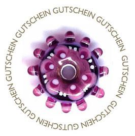Geschenk-Gutschein für designkrieg Glasperlenschmuck