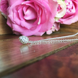 Eichelnüssli (klein) Halskette Silber